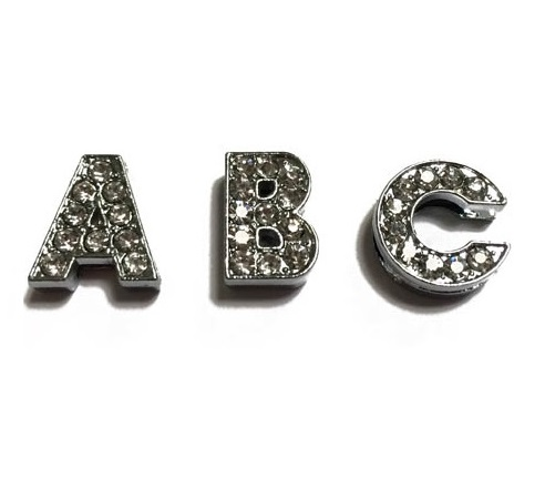 dog collar letter charms