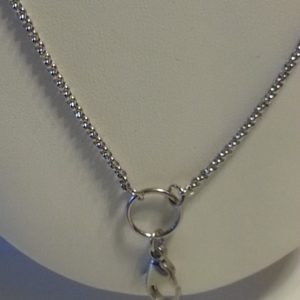 Stainless Chains in Silver