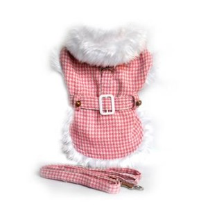 pink-houndstooth-white-fur-collar-harness-coat-1