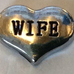 Silver Wife heart