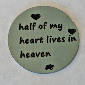 Half My Heart Lives in Heaven Large Disk