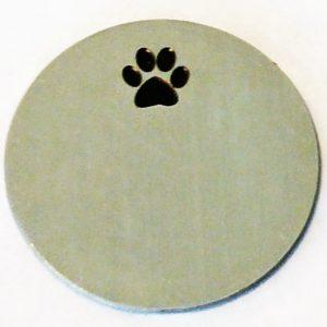 Paw Print Large Disk (2)