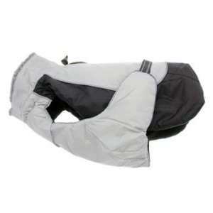 Alpine All Weather Dog Coat- Black and Gray