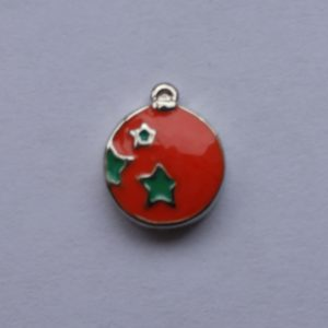 Enamel Charm - Ball Ornament