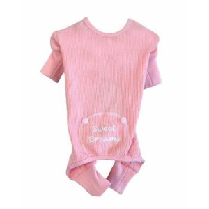 Sweet Dreams Thermal Pajamas - Pink