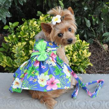 blue-lagoon-hawaiian-hibiscus-dog-dress-with-matching-leash-2251