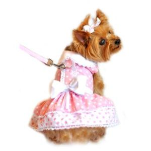 polka-dot-lace-dog-dress-set-with-leash-pink-9120