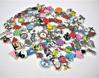 floating charms for living lockets